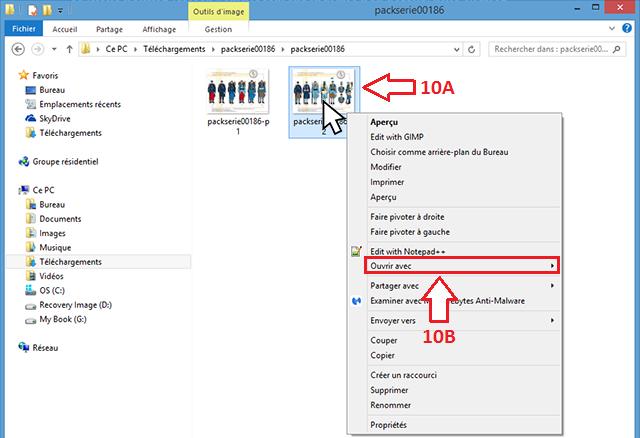 Etape 10 - Comment télécharger un packserie depuis son compte client ?
