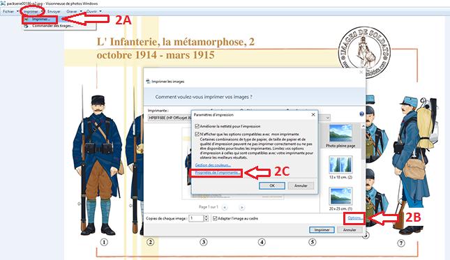 Etape 2 - Comment régler son imprimante pour optimiser l'impression des Planches IDS et IDA ?