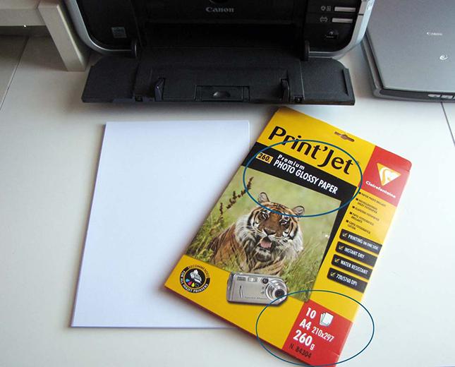 Etape 5 - Comment régler son imprimante pour optimiser l'impression des Planches IDS et IDA ?