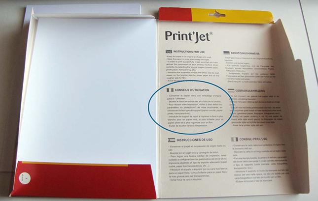 Etape 6 - Comment régler son imprimante pour optimiser l'impression des Planches IDS et IDA ?