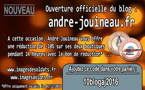 Visuel de l'offre spéciale ouverture du blog professionnel d'André Jouineau